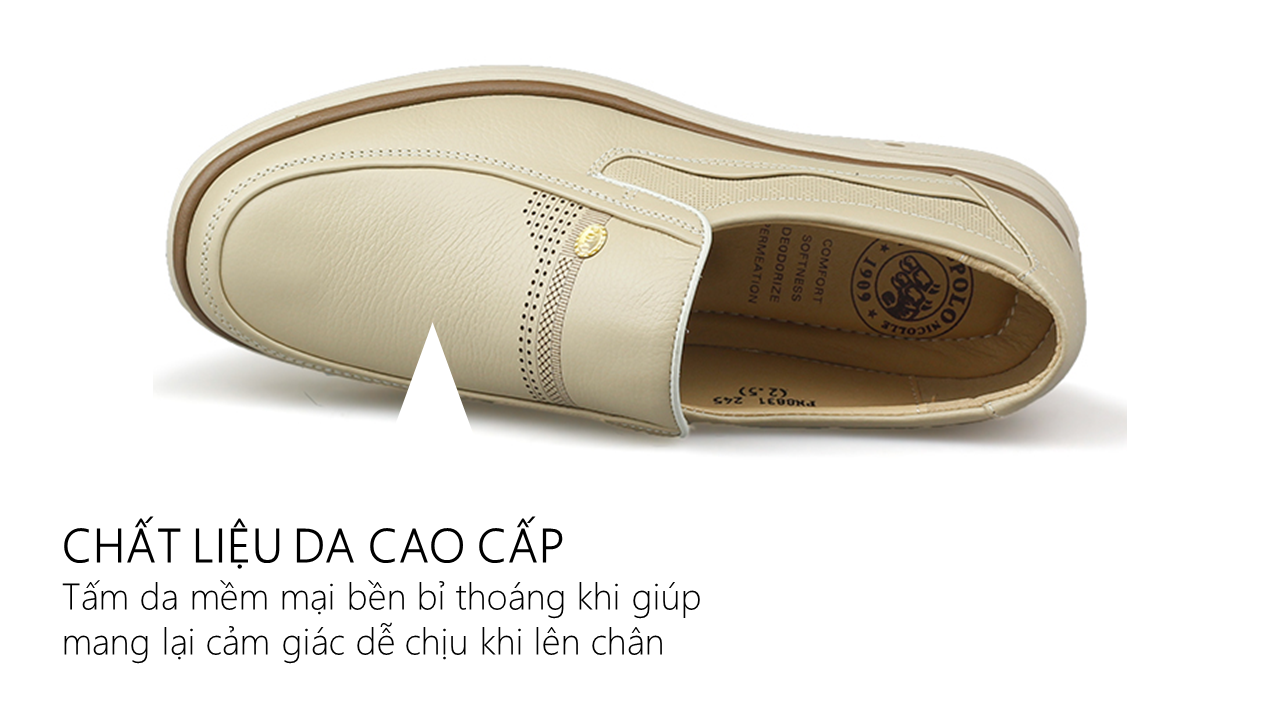 giày hàng hiệu nam chất liệu bền 8831T5