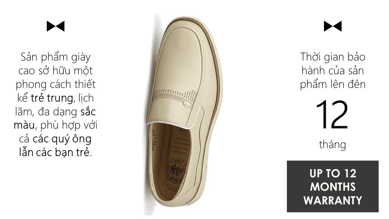 giày hàng hiệu nam chất liệu bền 8831T8