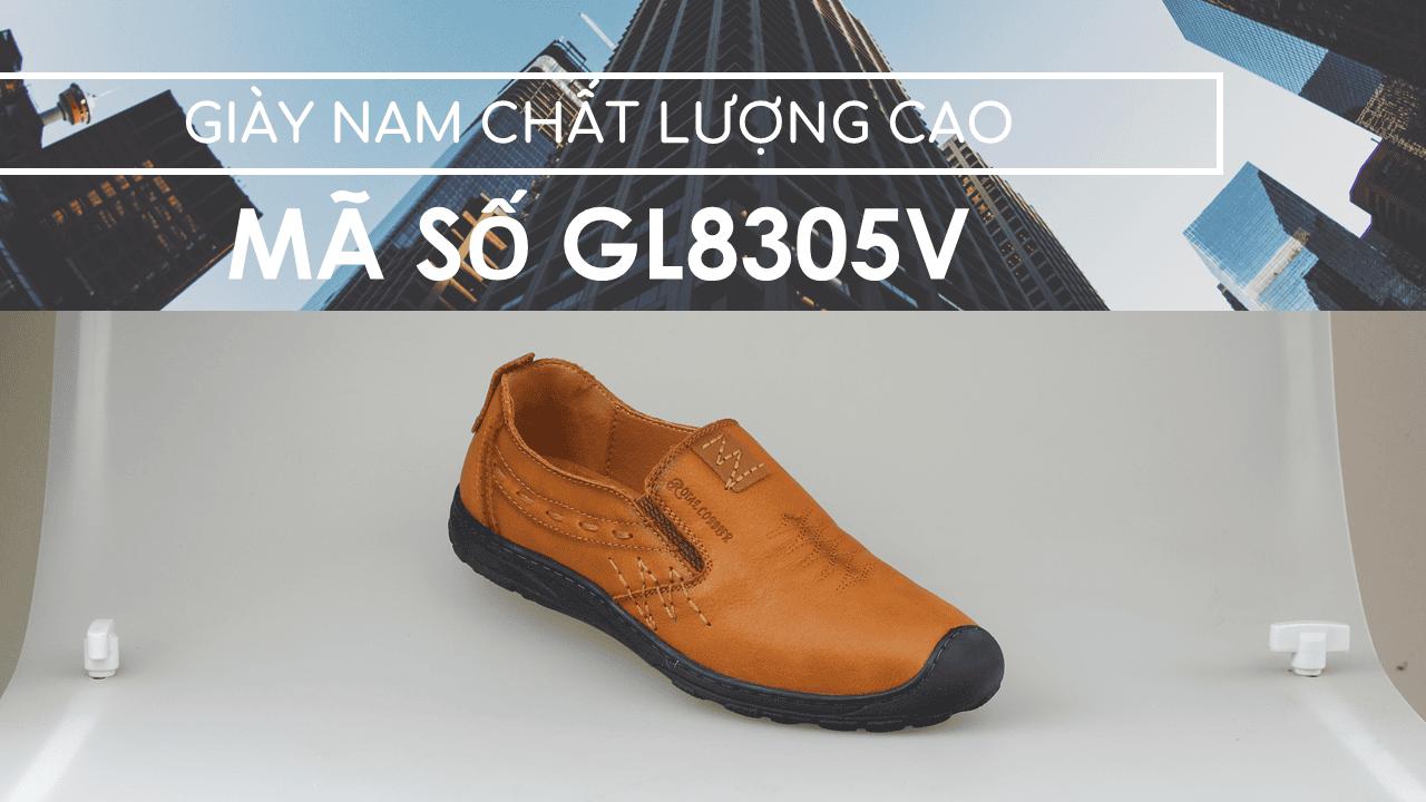 giày lười nam mùa thu đông 2018 GL8305V1