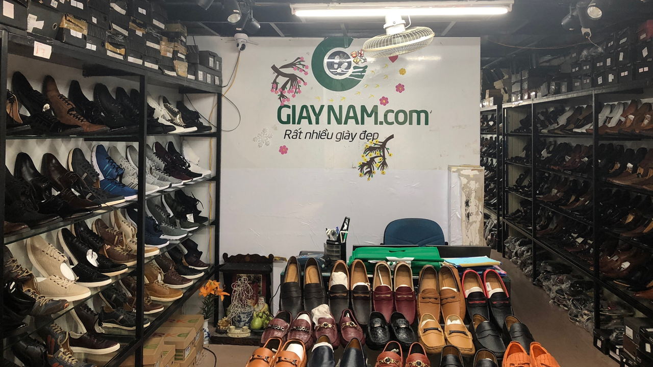 giày lười nam mùa thu đông 2018 GL8305V10