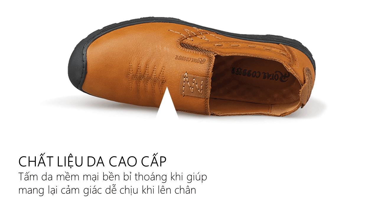 giày lười nam mùa thu đông 2018 GL8305V6