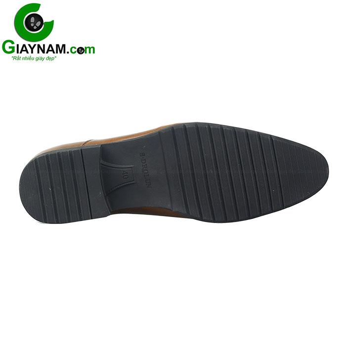 Giày lười công sở SDrolun màu nâu vàng bò mới nhất mã GL21817N2