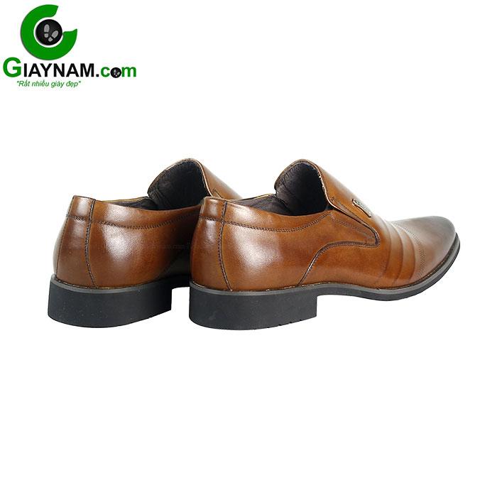 Giày lười công sở SDrolun màu nâu vàng bò mới nhất mã GL21817N4