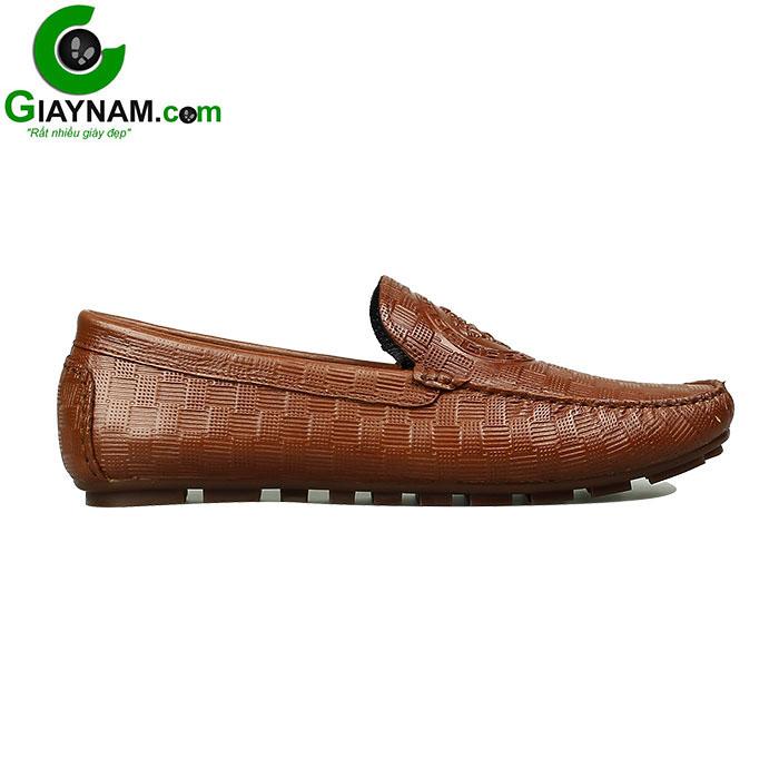 Giày mọi nam họa tiết versace lạ mắt mã GM8912N1