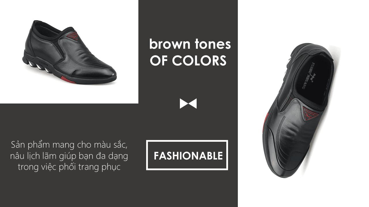 Giày cao siêu việt nâng đế 7cm ưu điểm vượt trội cho nam giới 2018 GCL65198D9