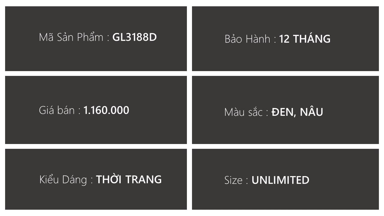 giày lười thương hiệu quốc tế giá tốt GL3188D3