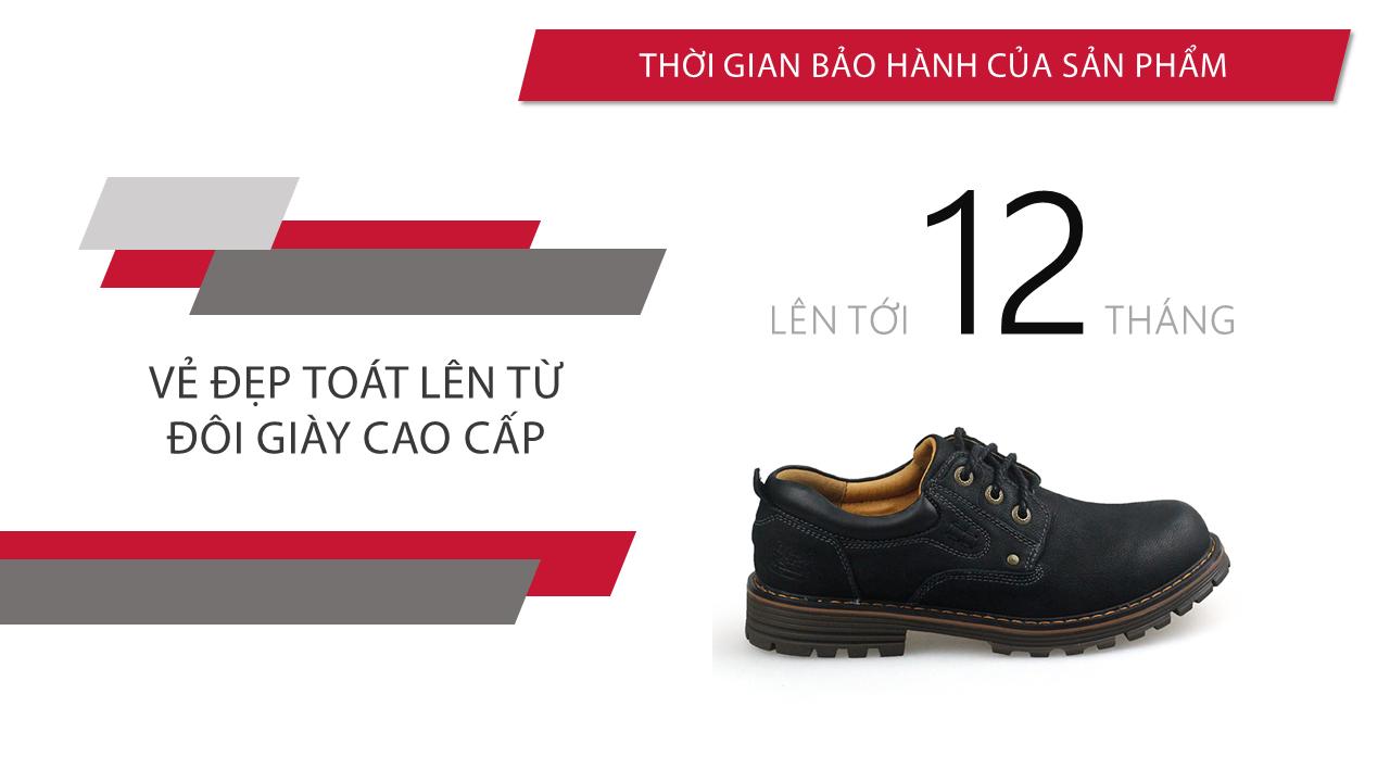 Giày buộc dây thời trang kiểu dáng doctor marten lịch lãm 2018 màu đen; Mã số BD2020D10