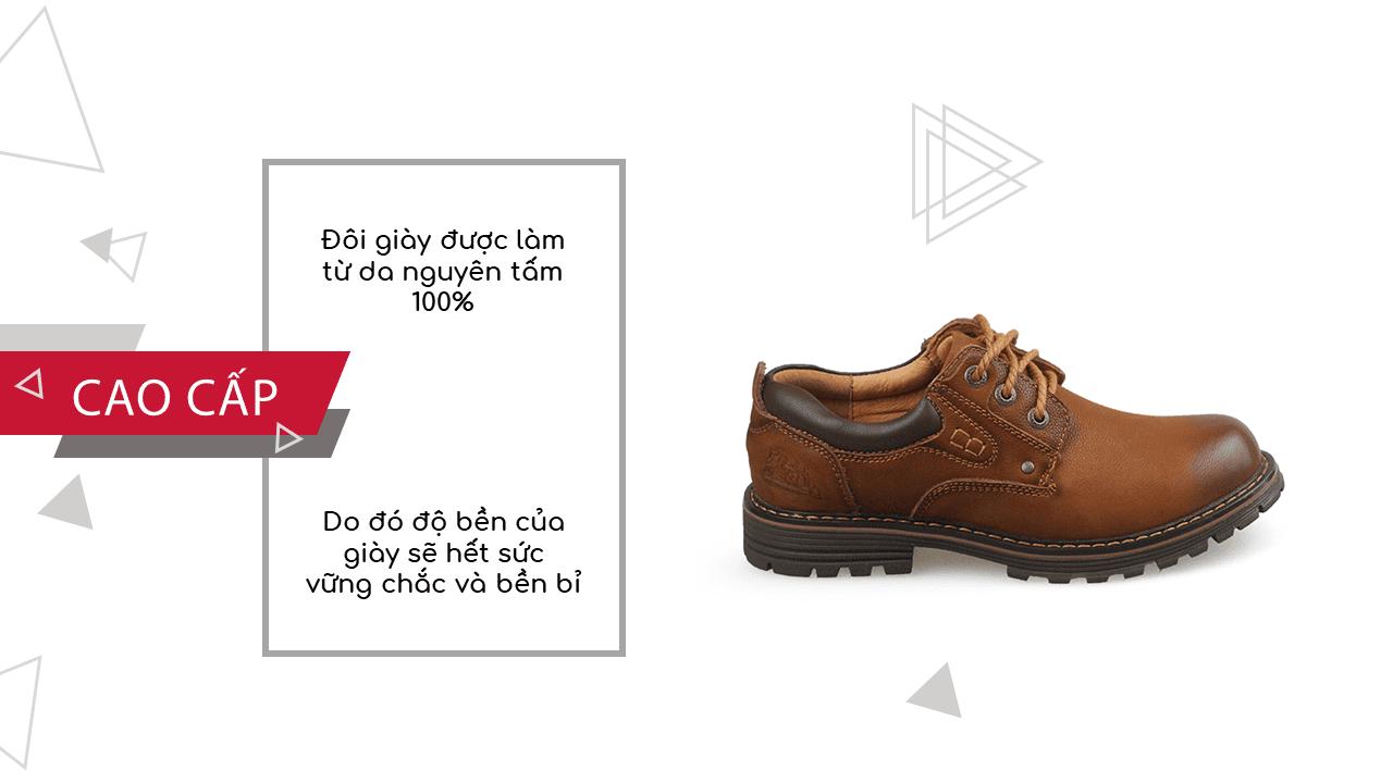 Giày buộc dây nhập khẩu thương hiệu anh quốc mùa đông ấm áp 2018; Mã số BD2021N6