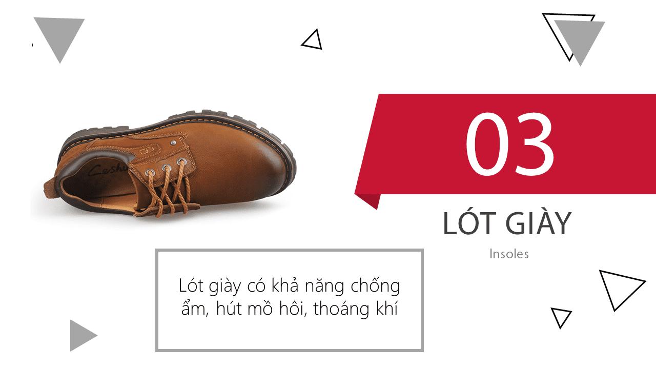 Giày buộc dây nhập khẩu thương hiệu anh quốc mùa đông ấm áp 2018; Mã số BD2021N9