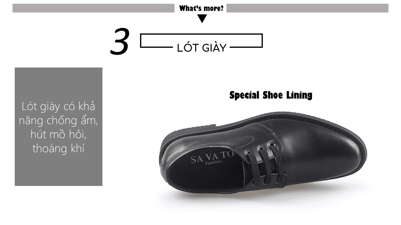 Giày buộc dây hoa văn tinh xảo mũi vểnh màu đen 2018 BD002D7
