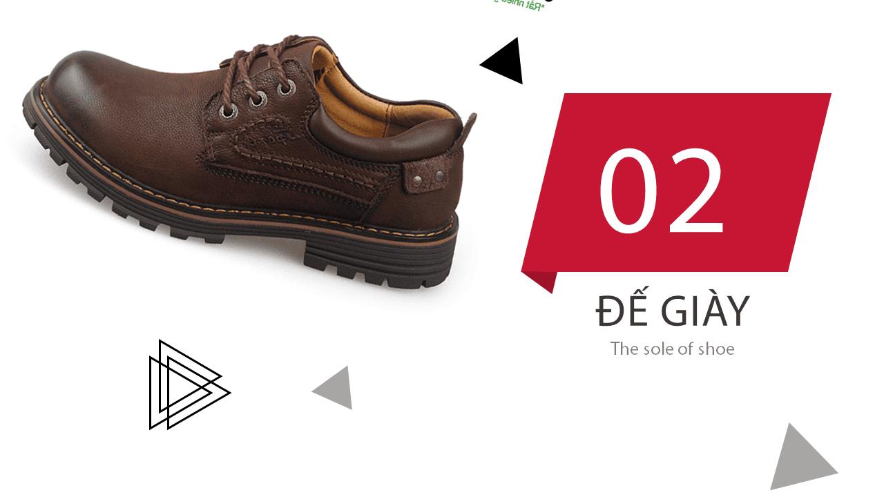 Giày buộc dây kiểu dáng doctor marten màu nâu huyền bí mùa đông 2018; Mã số BD2020N7