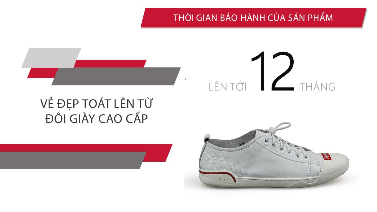 Giày buộc dây thể thao suppreme thời trang viền đỏ 2018; Mã số BD3298T10