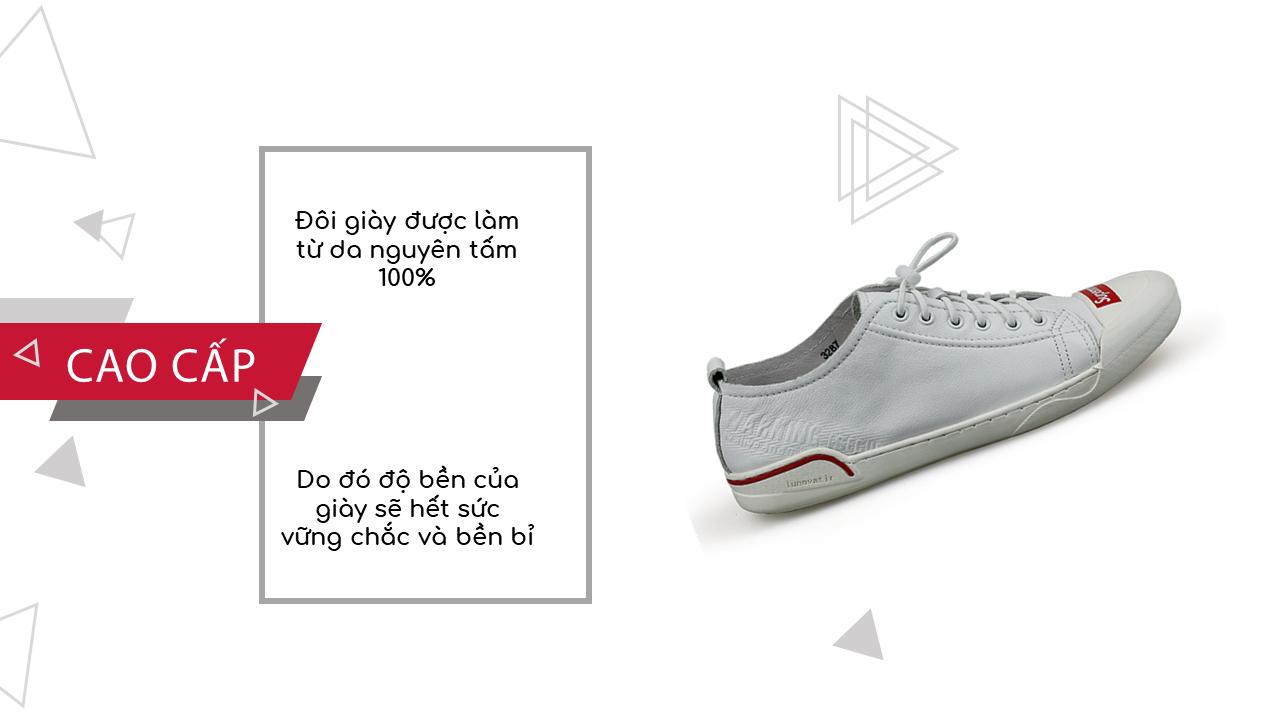 Giày buộc dây thể thao suppreme thời trang viền đỏ 2018; Mã số BD3298T6