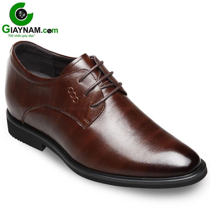 Giày cao công sở GOG màu nâu cao cấp 2016 mã GCD969602N