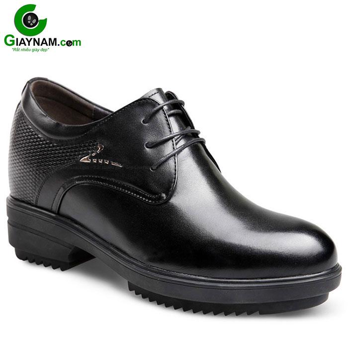 Giày cao gót nam màu đen GOG mới nhất mã GCD562610D