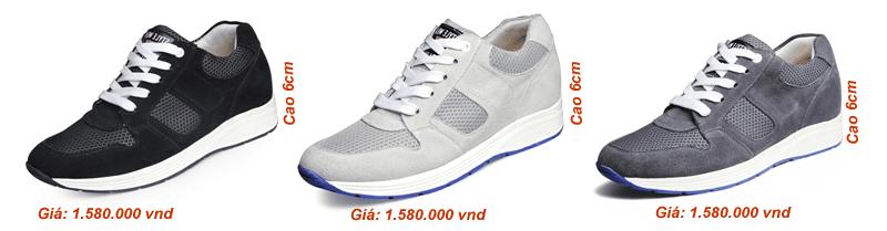 giày tăng chiều cao thể thao đẹp