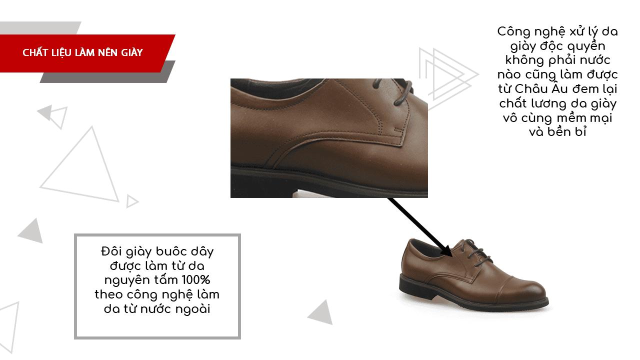 Giày da nam công sở màu vàng lịch lãm nhập khẩu 2018-5