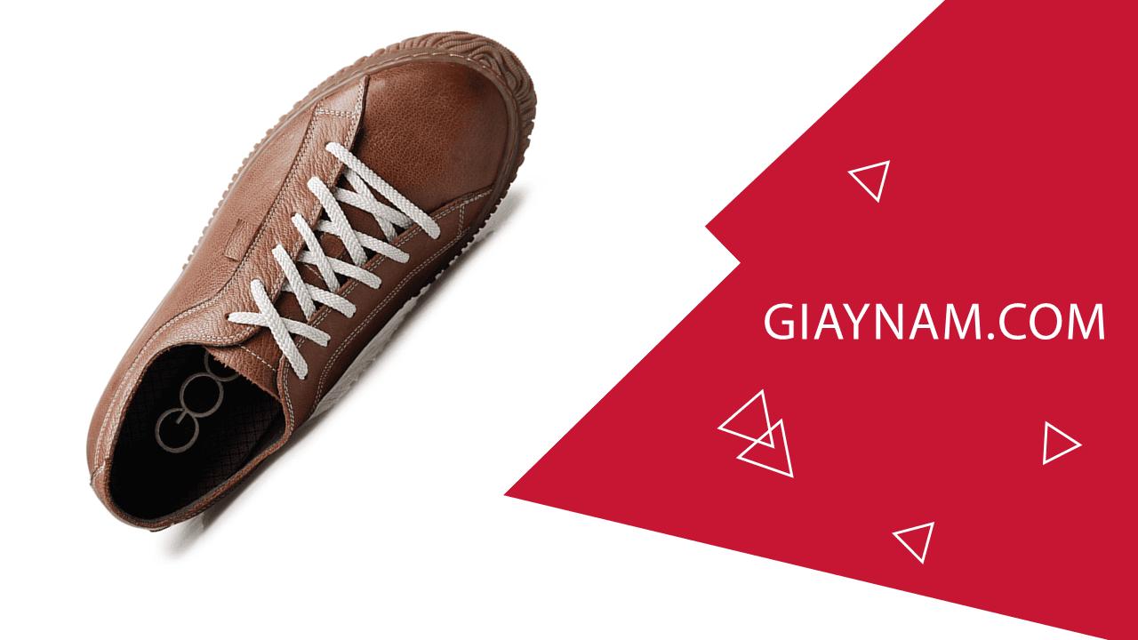 Giày cao đế mềm thương hiệu GOG màu nâu dây trắng thời trang 2018 BD68665N2