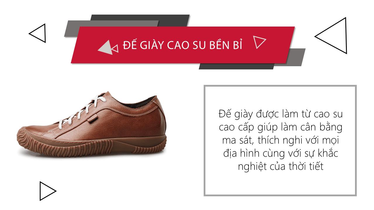 Giày cao đế mềm thương hiệu GOG màu nâu dây trắng thời trang 2018 BD68665N8