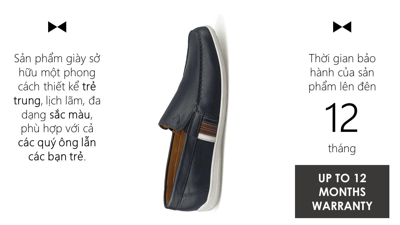 Giày lười châu âu GL902D10