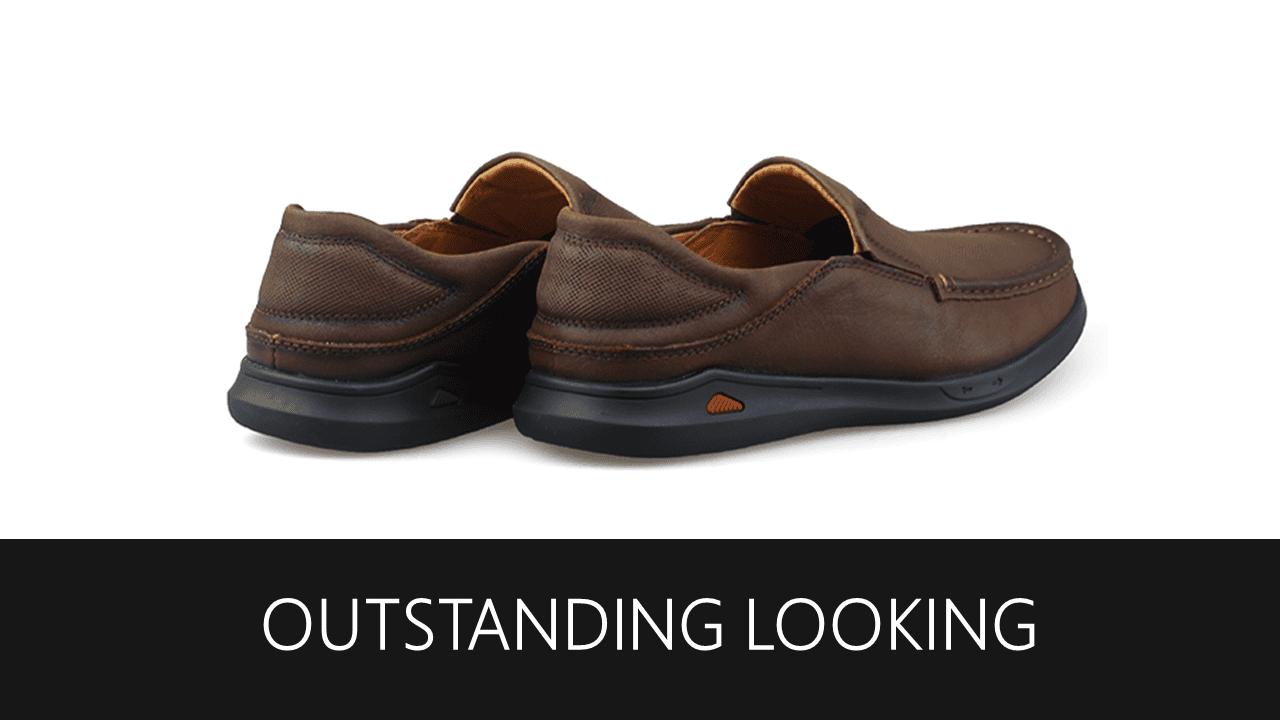 Giày lười nam trẻ trung bốn mùa màu nâu dành riêng cho các bạn trẻ Mã số GL361N8