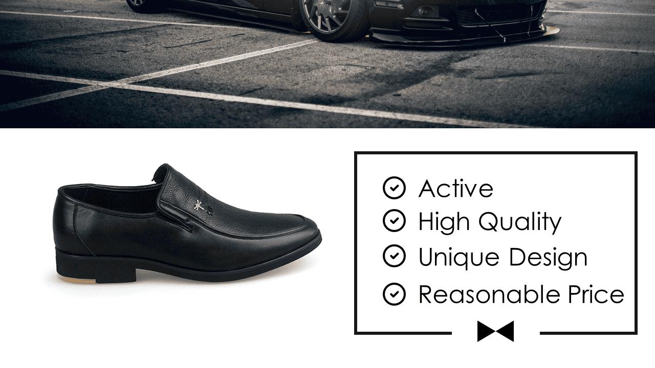 Giày lười nam thời trang logo con chuồn chuồn siêu dẻo 2018 GL1560D2