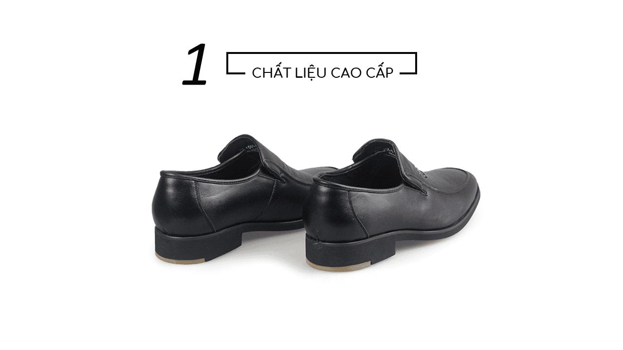 Giày lười nam thời trang logo con chuồn chuồn siêu dẻo 2018 GL1560D4