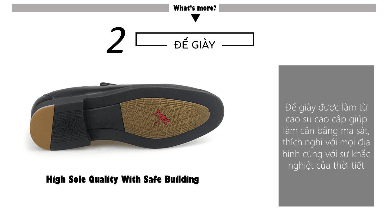 Giày lười nam thời trang logo con chuồn chuồn siêu dẻo 2018 GL1560D6