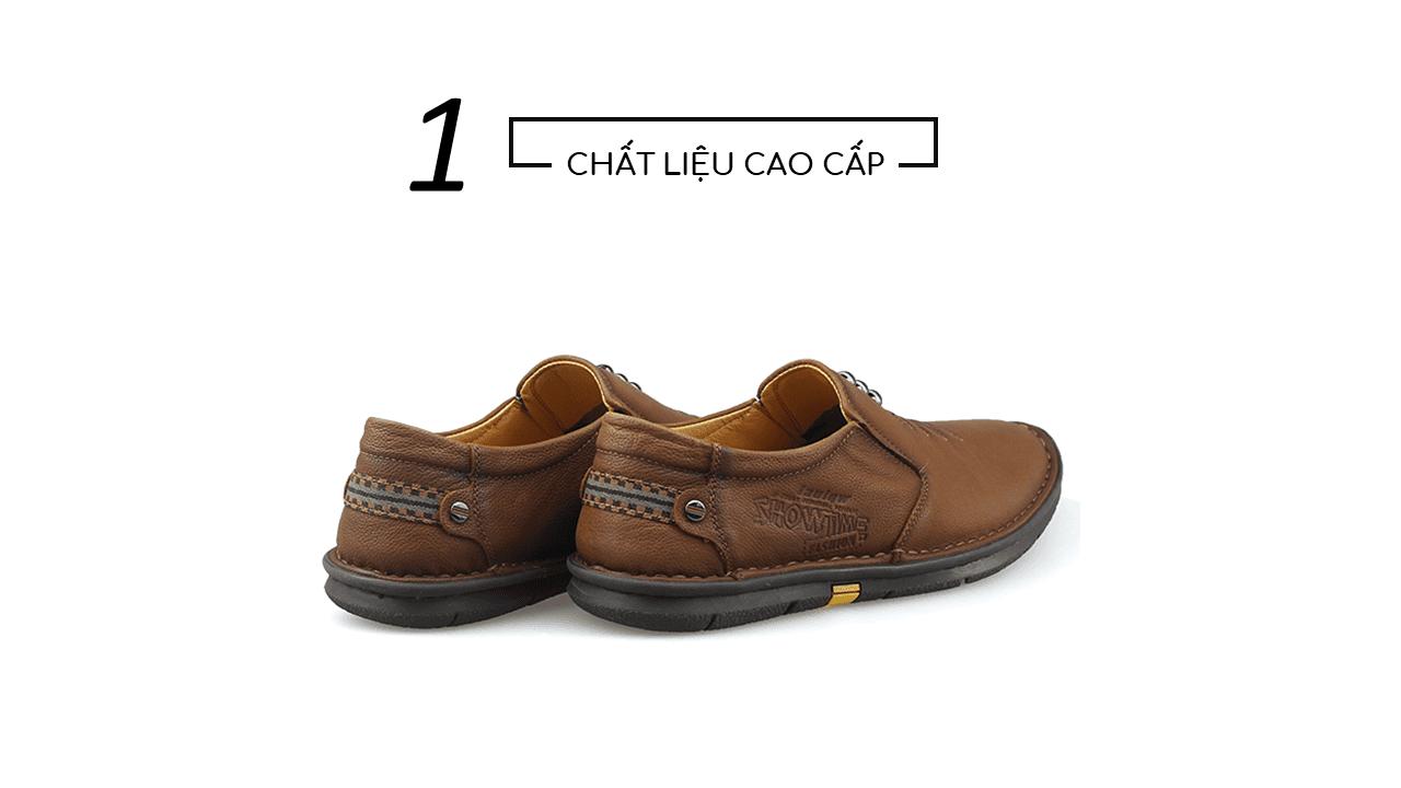 Giày lười nam nhập khẩu chính hãng kiểu dáng mũi tên 2018 GL5892V4