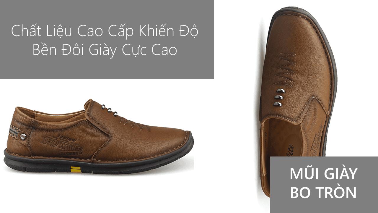 Giày lười nam nhập khẩu chính hãng kiểu dáng mũi tên 2018 GL5892V5