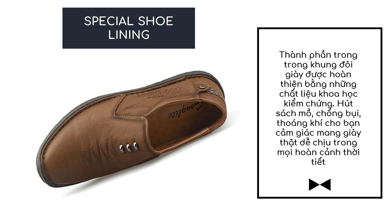 Giày lười nam nhập khẩu chính hãng kiểu dáng mũi tên 2018 GL5892V8