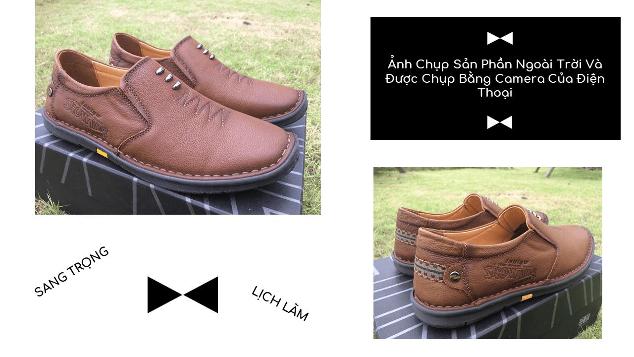 Giày lười nam nhập khẩu chính hãng kiểu dáng mũi tên 2018 GL5892V9