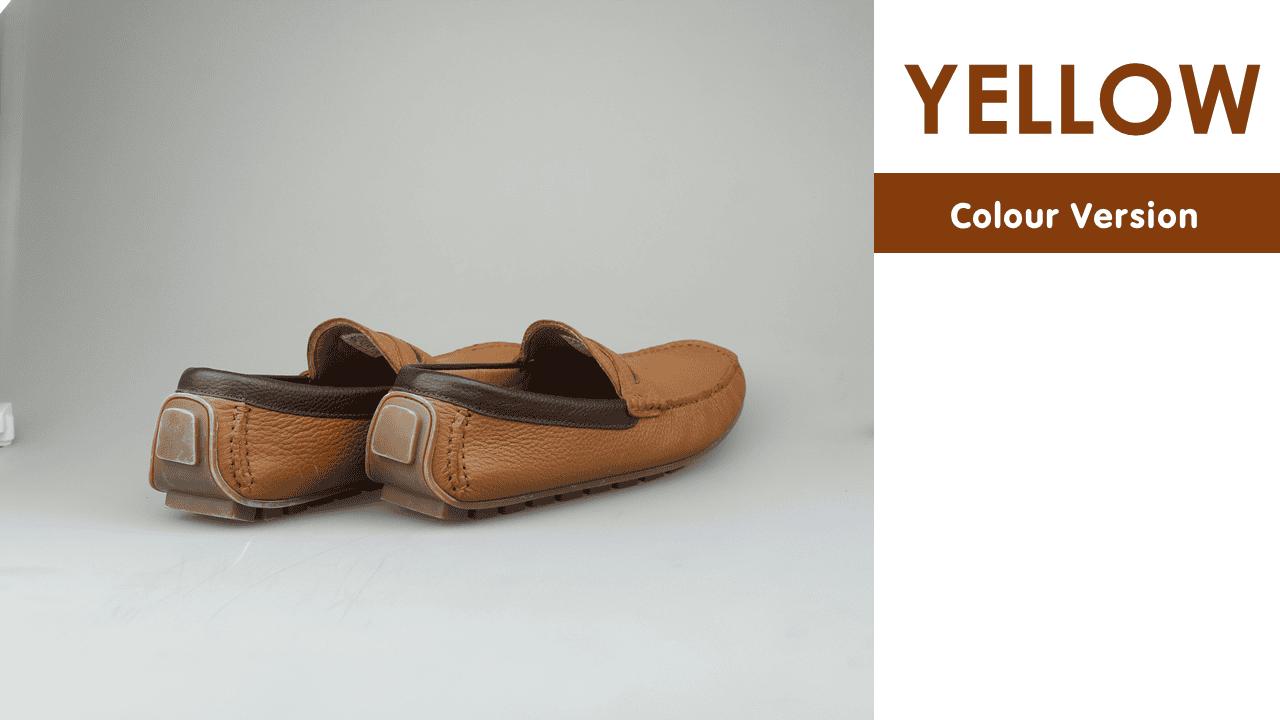 giày mọi nam mùa hè màu đen lịch lãm gm931d12