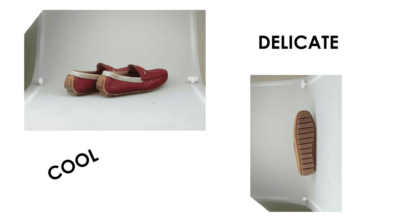 giày mọi nam mùa hè màu đen lịch lãm gm931d16