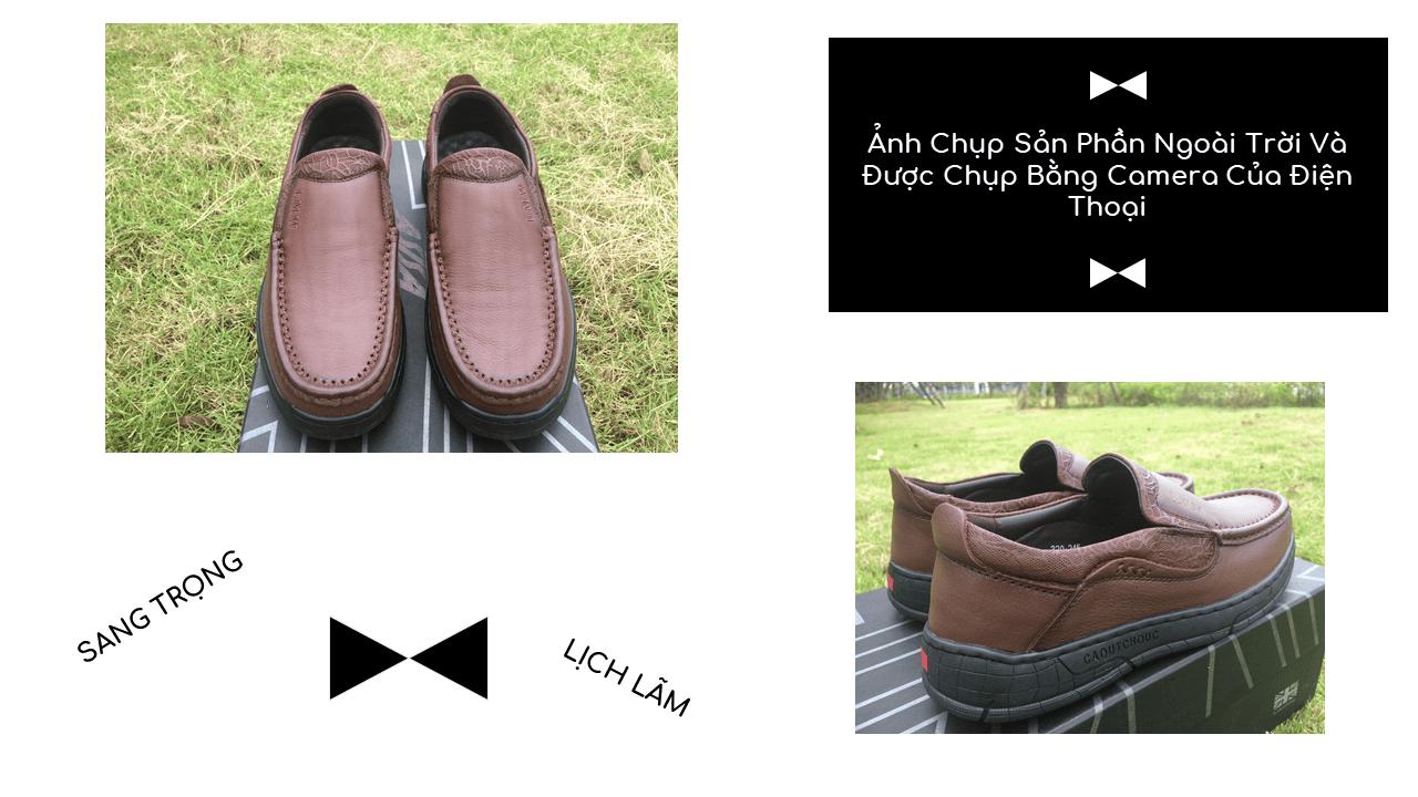 Giày lười thời trang lịch lãm nhập khâu phong cách SHMODE GL320N10