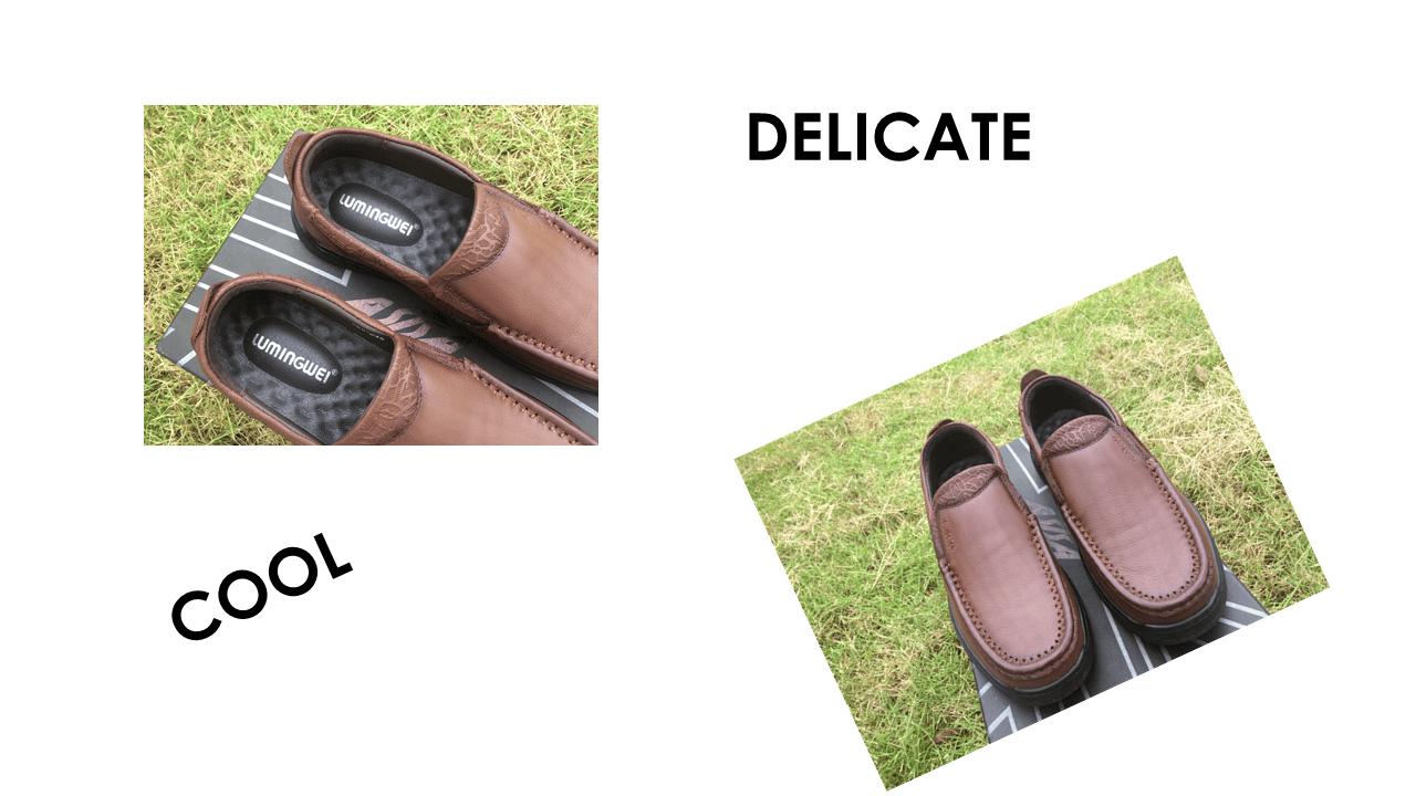 Giày lười thời trang lịch lãm nhập khâu phong cách SHMODE GL320N12