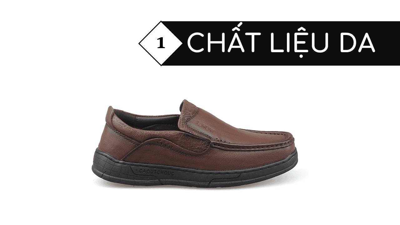Giày lười thời trang lịch lãm nhập khâu phong cách SHMODE GL320N3