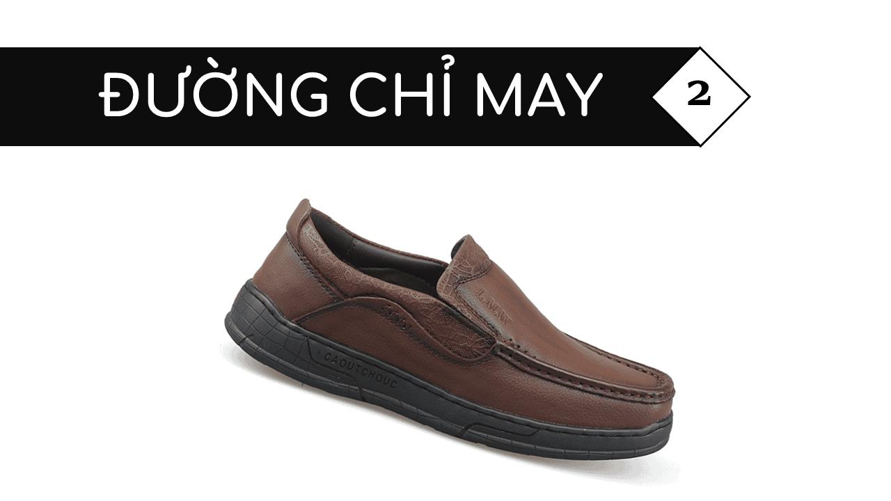 Giày lười thời trang lịch lãm nhập khâu phong cách SHMODE GL320N5