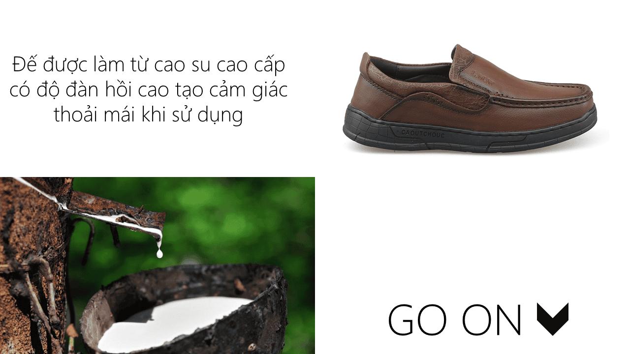 Giày lười thời trang lịch lãm nhập khâu phong cách SHMODE GL320N8