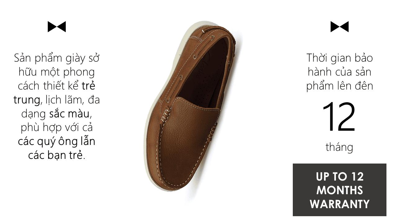Giày lười thời trang nam tính chi tiết tinh xảo nhập khẩu 10