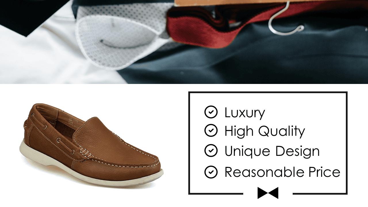 Giày lười thời trang nam tính chi tiết tinh xảo nhập khẩu 2