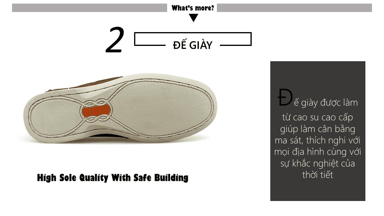 Giày lười thời trang nam tính chi tiết tinh xảo nhập khẩu6