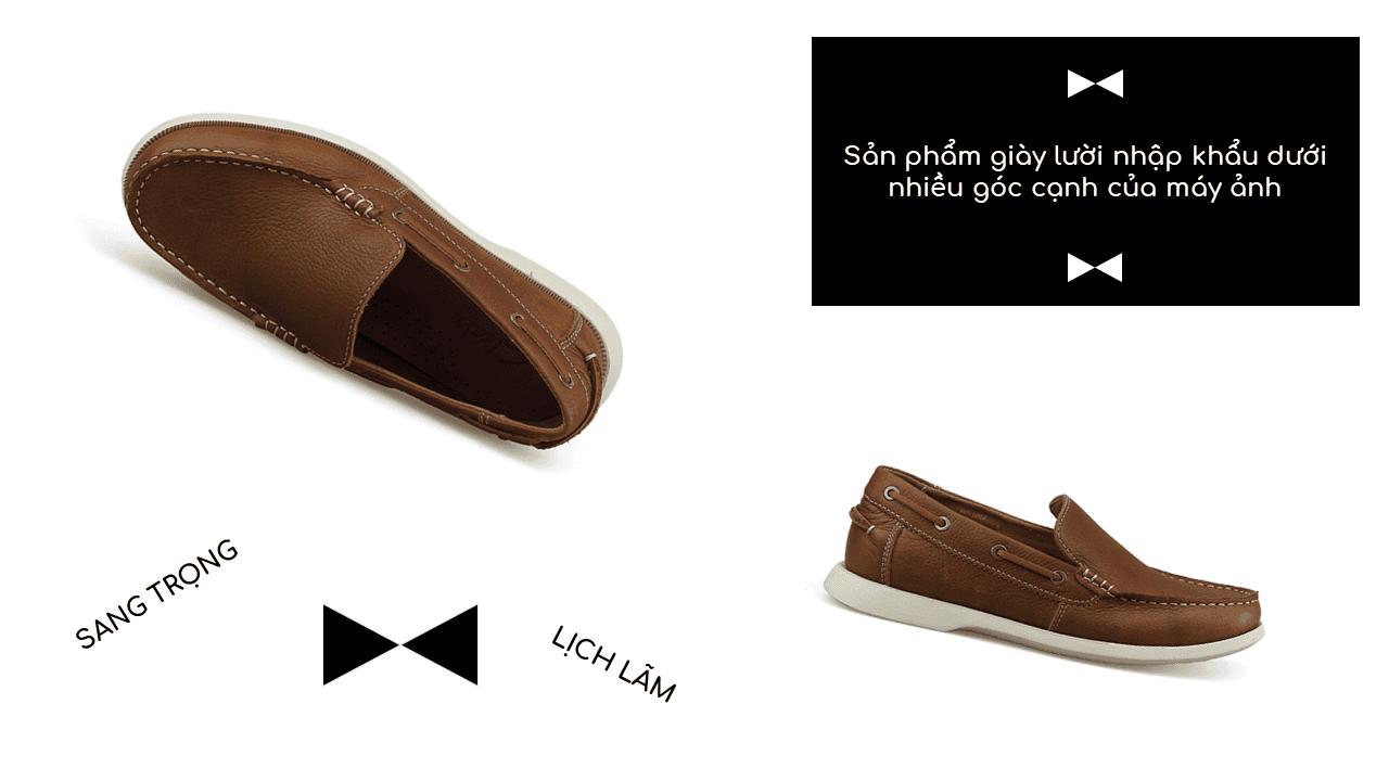 Giày lười thời trang nam tính chi tiết tinh xảo nhập khẩu 9