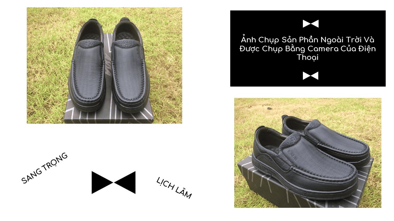 Giày lười thời trang lịch lãm nhập khẩu phong cách SHMODE 2018 GL320D10