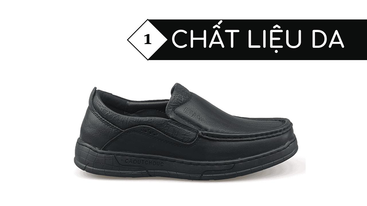 Giày lười thời trang lịch lãm nhập khẩu phong cách SHMODE 2018 GL320D3