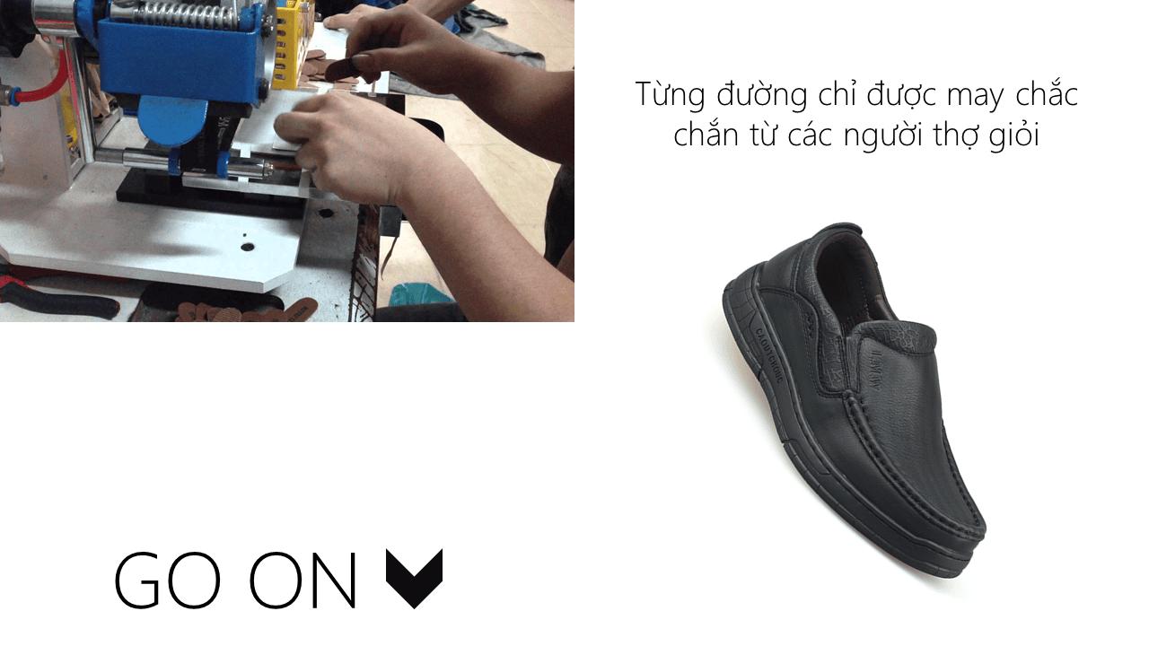 Giày lười thời trang lịch lãm nhập khẩu phong cách SHMODE 2018 GL320D6