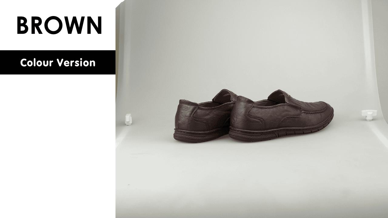 giày mọi nam da xịn 8305v12