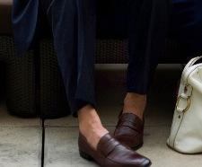 Giày lười đẹp cho mùa hè 2014