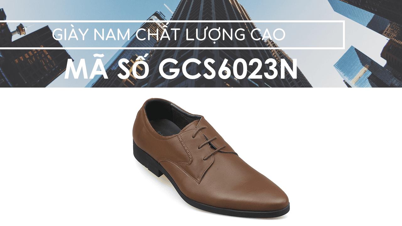 giày nam chất lượng cao thiết kể trẻ trung GCS6023N1