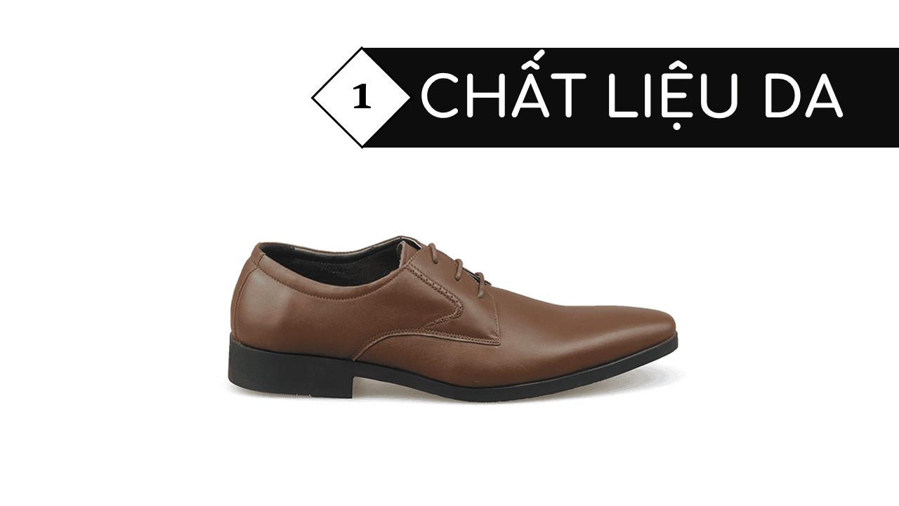 giày nam chất lượng cao thiết kể trẻ trung GCS6023N3